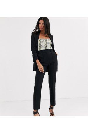 ASOS ASOS DESIGN Tall tailored smart mix & match cigarette suit trousers-Black