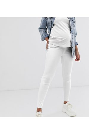 Spanx Spanx Mama ankle grazer jean-ish leggings-White