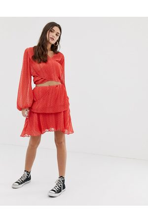 The East Order Teneille skirt-Red