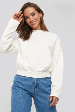 NA-KD Dame Sweatshirts - Contour Seam Deatil Sweater