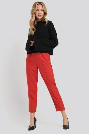 NA-KD Dame Bukser - Elastic Waist Seamline Pants
