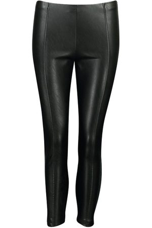 Boohoo Petite Faux Leather Legging