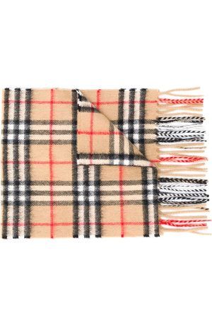 Burberry Signature check knit scarf