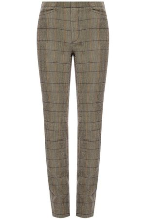 Chloé Checked trousers