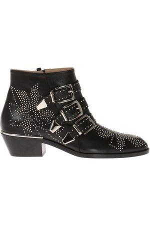 Chloé Susanna' studded heeled ankle boots