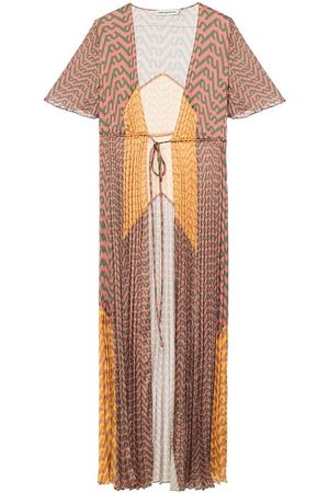 Self-Portrait Dame Bodycon kjoler - Pleated slip dress