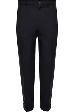 Marni Herre Chinos - Wool pleat-front trousers