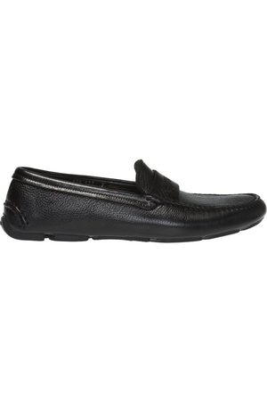 Armani Leather slip-on shoes
