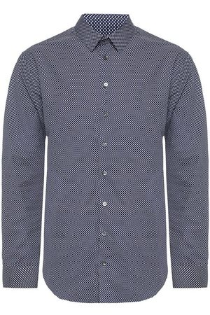 Armani Shirt with geometric motif