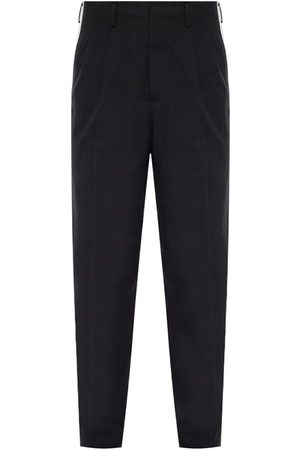 Dolce & Gabbana Herre Chinos - Side-stripe pleat-front trousers