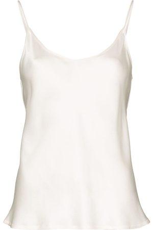 La Perla Dame Singleter - Silk-satin camisole