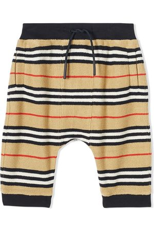 Burberry Icon Stripe tracksuit bottoms