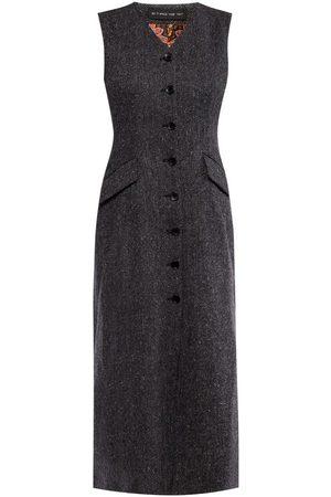 Etro Herringbone wool dress