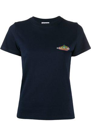 Balenciaga Dame Kortermede - Logo-print T-shirt