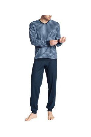 Calida Herre Pyjamaser - Relax Imprint Pyjama With Cuff * Fri Frakt