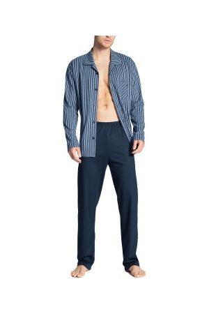 Calida Herre Pyjamaser - Relax Imprint Buttoned Pyjama * Fri Frakt