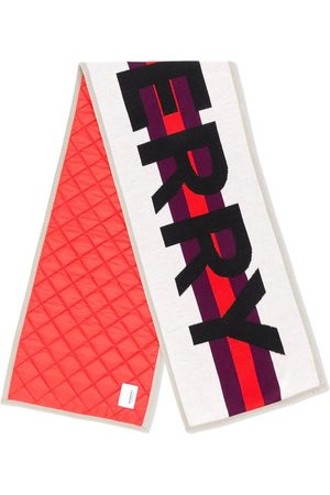 Burberry Skjerf - Contrast logo scarf