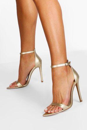 Boohoo Pointed Toe 2 Part Heels