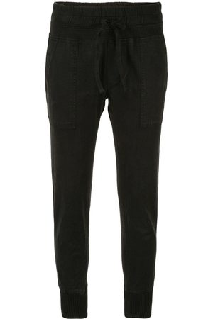 James Perse Dame Smale bukser - Slim-fit cropped trousers