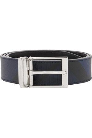 Burberry Herre Belter - Reversible London Check belt