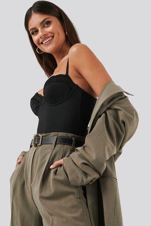 NA-KD Micro Lace Bodysuit