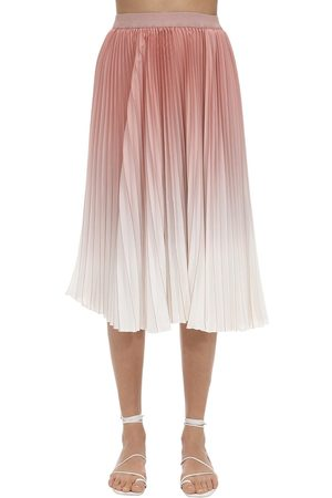 Agnona Pleated Degradé Skirt
