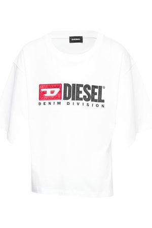 Diesel Barn Kortermede - Tjackyd T-Shirt T-shirts Short-sleeved Rosa
