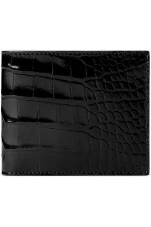 Gucci Crocodile bi-fold wallet