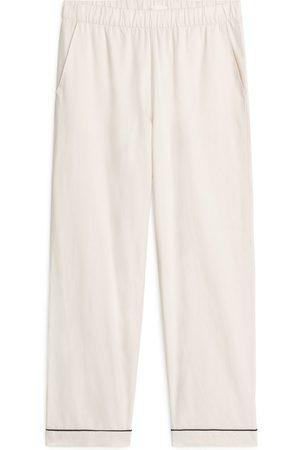 ARKET Dame Sokker - Flannel Pyjama Trousers