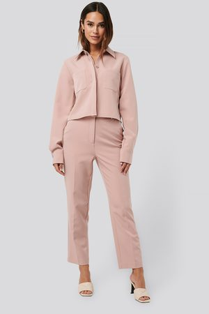 NA-KD Tailored Cropped Suit Pants