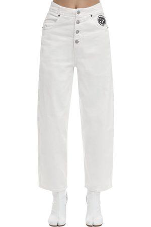 MM6 MAISON MARGIELA Rianna Flared Cotton Denim Jeans