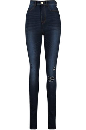 Boohoo Tall Distressed Jegging