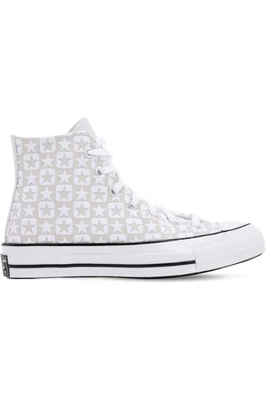 Converse Dame Sneakers - Chuck 70 Flocked Canvas - Hi Sneakers