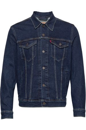 Levi's The Trucker Jacket Moon Lit Tr Dongerijakke Denimjakke Blå