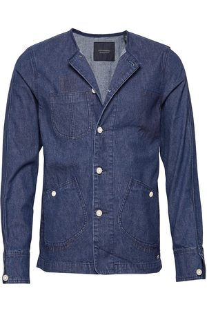 Scotch&Soda Ams Blauw Matchy Matchy Tailored Workwear Jacket Dongerijakke Denimjakke Blå
