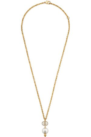 Gucci Interlocking G necklace with pearl