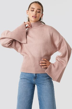 NA-KD Open Sleeve Knitted Sweater