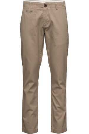 Knowledge Cotton Apparal Twisted Twill Chions''32 Chinos Bukser Blå
