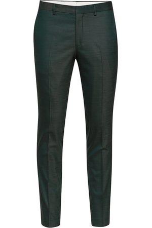 Selected Slhslim-Mylostate Flex Green Trs B Noos Dressbukser Formelle Bukser Grønn