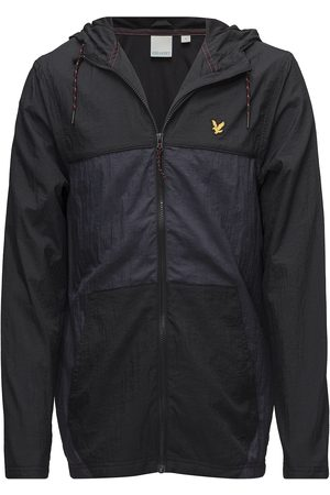 Lyle & Scott Full Zip Windbreaker Hood Outerwear Sport Jackets