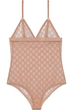 Gucci Dame Lingerie - GG tulle bodysuit