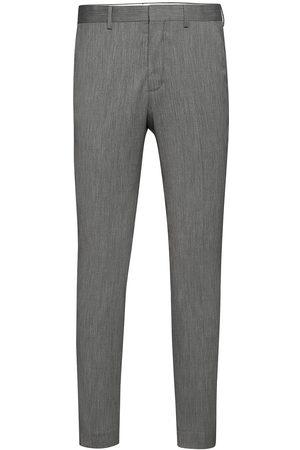 Selected Slhslim-Mylobill Lt Grey Strc Trs B Noos Dressbukser Formelle Bukser
