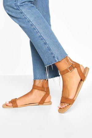 Boohoo Dame Flip flops - Square Toe 2 Parts Basic Sandals