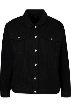 Boohoo Dame Denimjakker - Plus Oversized Denim Jacket