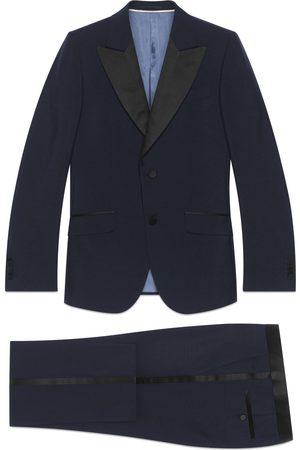 Gucci Heritage mohair wool tuxedo