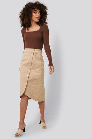 NA-KD Dame Midiskjørt - Wrap Skirt