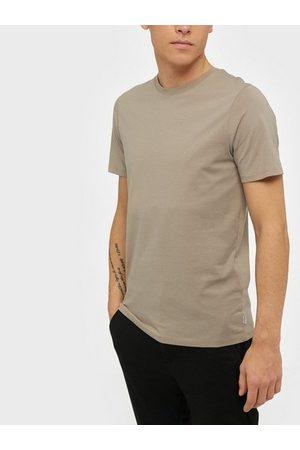 Jack & Jones Jjeorganic Basic Tee Ss O-Neck Noos T-skjorter og singleter Beige