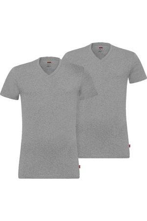 Levi's 2-pakning Base V-Neck T-shirt * Fri Frakt