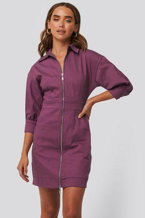 Trendyol Zipper Mini Dress