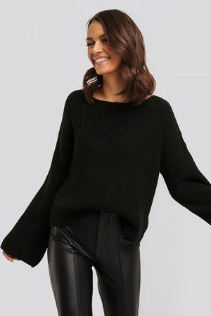 NA-KD Shiny Frill Skirt